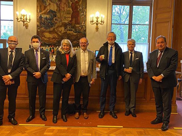 駐法代表感謝參議員支持台灣參與國際組織