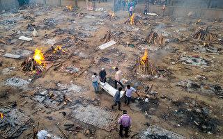 印度新冠疫情持續延燒,甚至蔓延到周邊鄰國。 (JEWEL SAMAD/AFP via Getty Images)