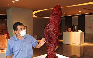 五星酒店木雕个展 渔村木雕师技艺精湛