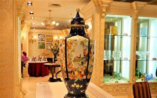 皇室工藝麥森名瓷 「古城春色」標出千萬身價