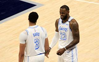 NBA湖人及勇士附加赛交锋 争季后赛第7种子
