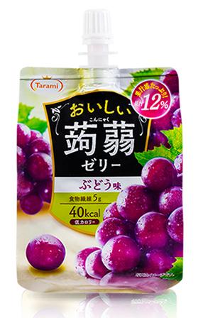 蒟蒻果冻含有膳食纤维。
