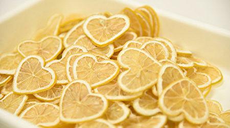 心型柠檬红茶。