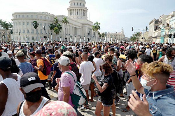 支持古巴人 白宫:共产主义是失败意识形态