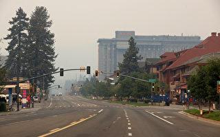 卡尔多山火逐渐受控 南太浩湖数千名居民可返家